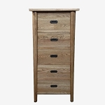Malibu Tall Skinny Chest of Drawers